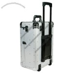 Aluminum Cosmetic Trolley Case