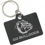 Aluminum Dog Tags - Rectangle With Split Ring