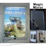 Aluminum Frame Magic Mirror Light Box