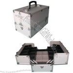 Aluminum Frame Makeup Train Cases