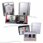 "Aluminum twelve page 5 1/8"" x 6 1/2"" photo book"
