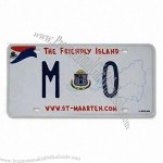 American Car License Number Plate