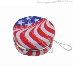 American Flag Yoyo Tin Toy