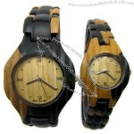 Analog Wooden Watch