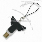 Angel-wing design USB Drive keychain