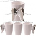 Angel Wings Ceramic Mugs