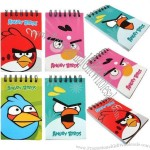Angry Birds Spiral Binding Diary Notebook, Pocket Jotter