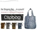 Animal Design Clipbag Foldable Shopping Bag in a Pouch
