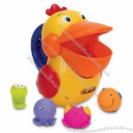 Animal-shaped Novelty Bath/Vinyl Toy
