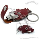 Animal Shaped USB 2.0 Leather Flash Drive