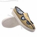Anti-static ESD Shoes, Canvas Face, PVC Sole, Suitable for ESD and Clean Room Working Shop