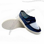 Anti-static ESD Shoes, Canvas Small Mesh Face, PVC Sole, Suitable for ESD, Clean Room, Working Shop