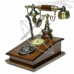 Antique Style Wooden Telephone(2)