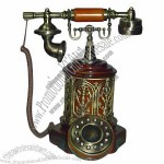Antique Style Wooden Telephone(5)