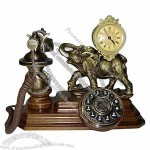Antique Wooden Telephone(6)