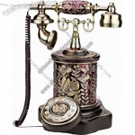 Antique Wooden Telephone(7)