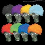Any Color - Adult size team spirit wig,