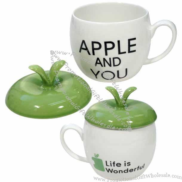 Apple Shaped Coffee Mugs