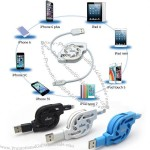 Apple Series Lightning Retractable Charging Cable