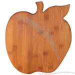 Apple Shaped Bamboo Cutting Boards