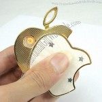 Apple Shaped Metal USB Cigarette Lighter