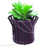 Arlau Flower Pot Purple