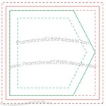 "Arrow Adhesive Sticky Note Pads 3"" x 3"" w/ 50 Sheets"