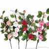 Artificial Camellia Flower with 90cm Height