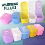 Assembling Pill Case