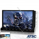 "ATSC Version - 2 DIN In Dash Car DVD Player with 7"" Detachable Android 2.3 Tablet Panel"