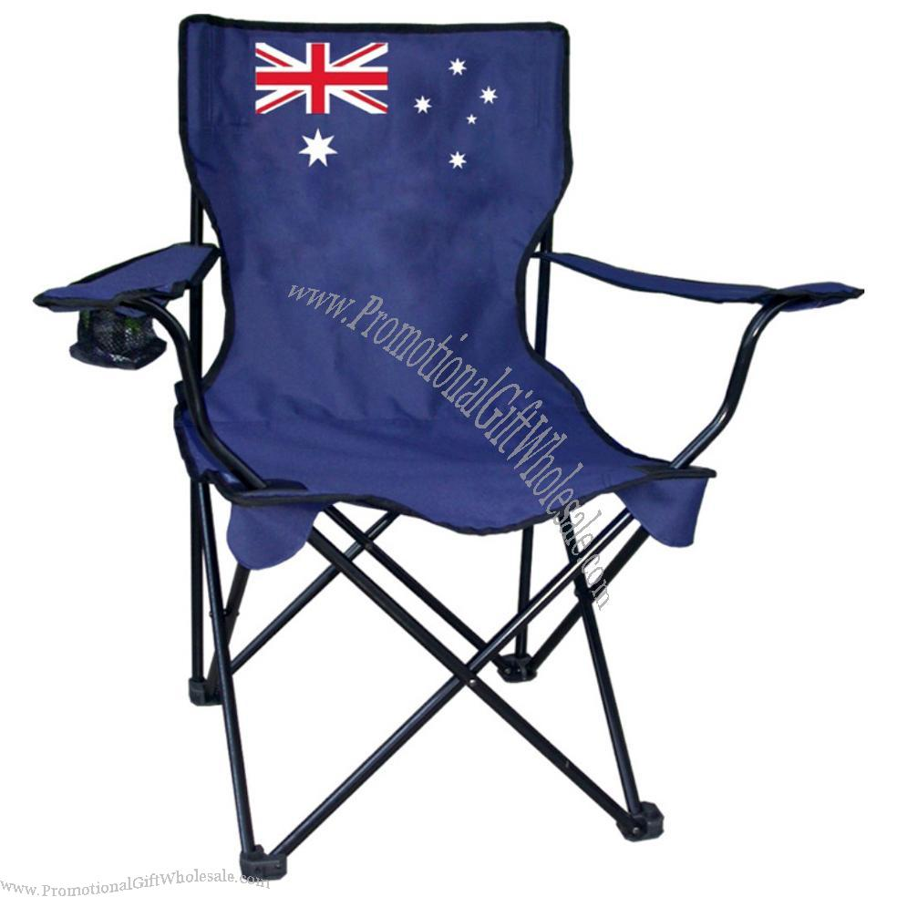 Australian Flag Outdoor Folding Chair Cheap Price