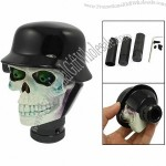 Auto Car Hatted Skull Design Gear Stick Shift Knob Shifter Cover