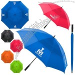 "Auto Open 60"" Vented Canopy Golf Umbrella"