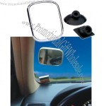 Auxiliary Rearview Mirror with Double-sided adhesive sucker