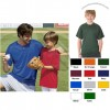 B-Dry Core Placket Custom T-Shirt - Youth