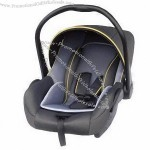 Baby car seat, 3 points belt harness system