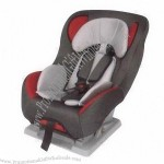 Baby car seat with 5 points harness system