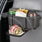 Back Seat Organizer With Plastic Tray