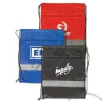 Backpack with Reflective Safety Stripe