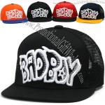 Badboy Mesh Baseball Caps Ball Cap Trucker Hat Visor Hats