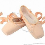 Ballet Point Shoes with Canvas Upper