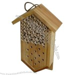 Bamboo Bee House Home Shaped