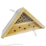 Bamboo Bee House Triangle Shaped