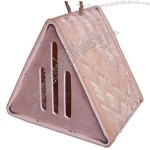 Bamboo Butterfly House Triangle Shaped