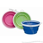 Bamboo Silicone Travel Bowl/Cup