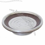 Bamboo Soap Dish with 18/8 Stainless Steel Insert