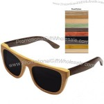 Bamboo Sunglasses with Polarized Lenses