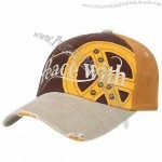 Baseball Cap with Applique Embroidery in Front