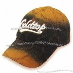 Baseball Cap with Patch-up Embroidered Design