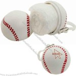 Baseball case - Direct import rain poncho packed in sport ball shape case